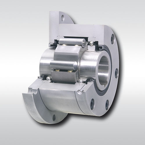 Bearing-mounted one-way clutch / roller / indexing / full-face FGR R A1A2 series RINGSPANN