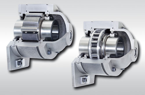 One-way roller clutch / full-face / with internal bearings BA series RINGSPANN