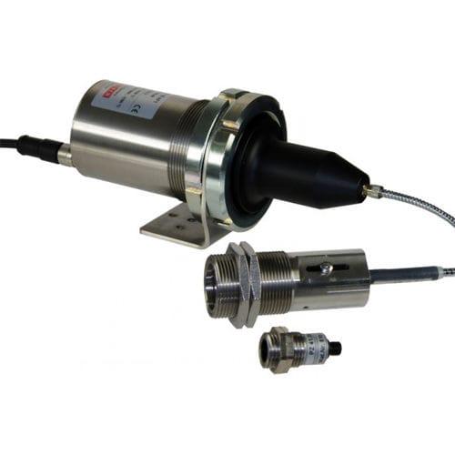 molten metal pyrometer / optical / bi-color / with LED display