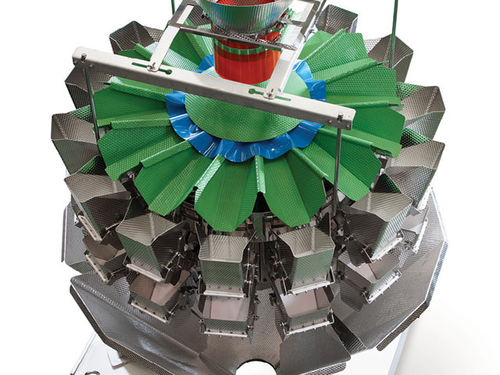 multihead weigher / for the food industry / with central feed