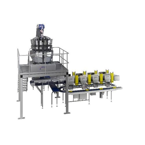 multihead weighing machine / for the food industry / for fresh products / poultry
