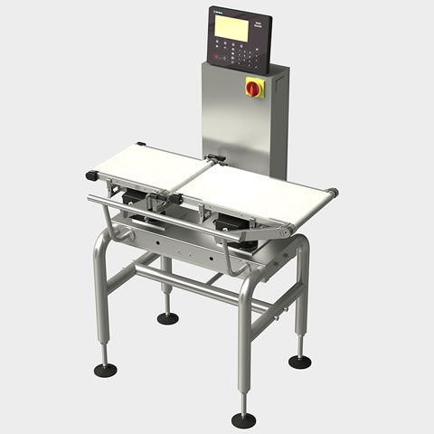 packaging checkweigher / for quality control / for the food industry / with belt conveyor