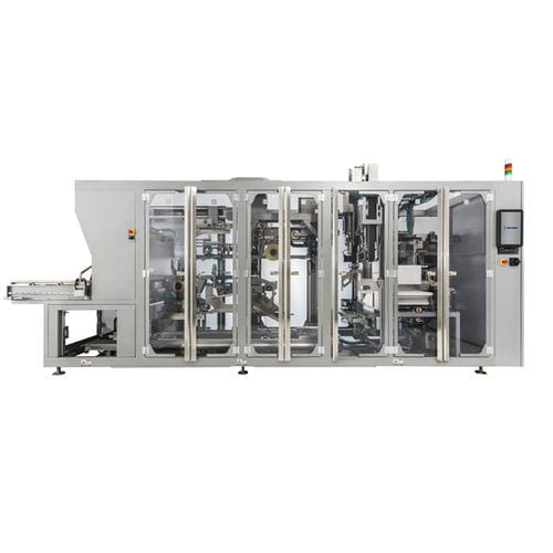 fully automatic case packer / bag / compact