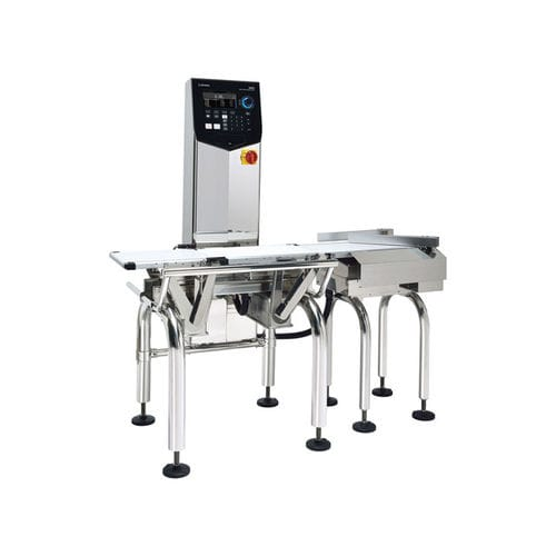 packaging checkweigher / for the food industry / with belt conveyor / with touchscreen controls