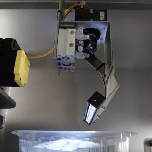 camera inspection system / for the packaging industry / visual / film