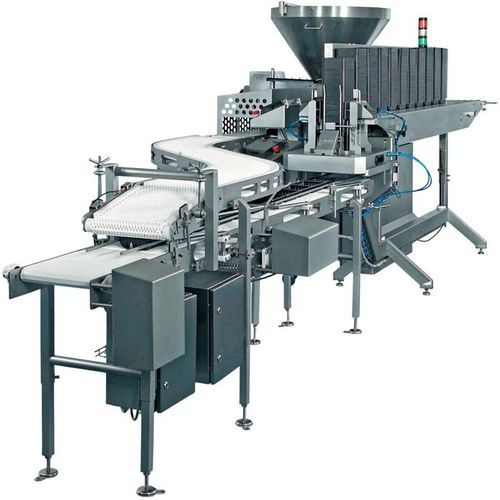 automatic tray packer / for food / filling / for packaging
