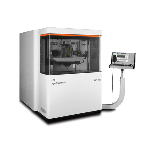 wire electrical discharge machine / for micro-machining / CNC