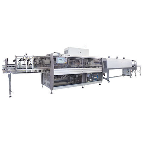 Automatic shrink wrapping machine / for bottles / for cardboard boxes / for heat-shrink films CSK 50 ERGON series SMI