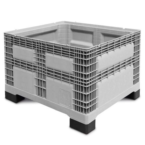 Plastic pallet box / storage / stacking / perforated plate Light-PALOXE Utz