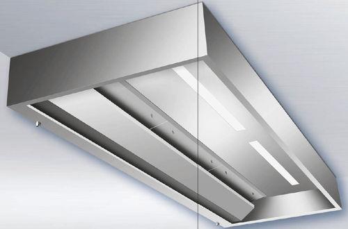 Ceiling-mount extractor hood X-CYCLONE® EVSR series Rentschler REVEN
