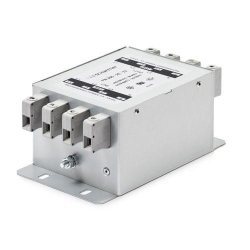 Low-pass electronic filter / passive / EMI with minimum leakage current / screw-in FN 356  SCHAFFNER Group