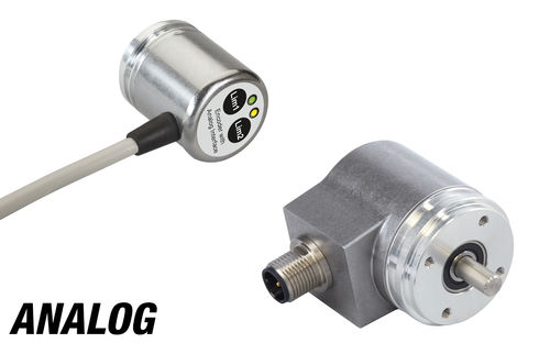 Absolute rotary encoder / magnetic / analog / non-contact IXARC FRABA GmbH