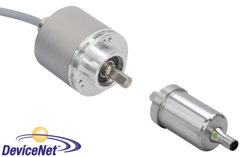Absolute rotary encoder / optical / DeviceNet / solid-shaft IXARC FRABA GmbH