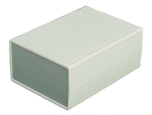 panel-mount enclosure / rectangular / in plastic / for instrumentation