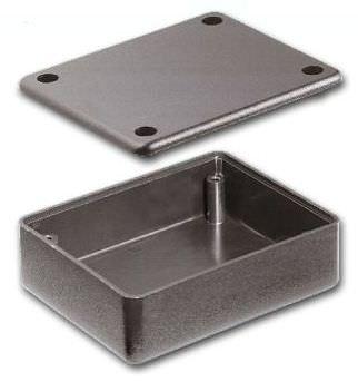 rack-mount enclosure / rectangular / in plastic / screw cover
