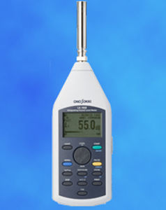 Integrating sound level meter / class 2 / digital 100 dB, 26 - 137 dB | LA-14x0 series Onosokki