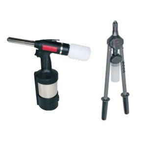 hand riveting tool / hydro-pneumatic