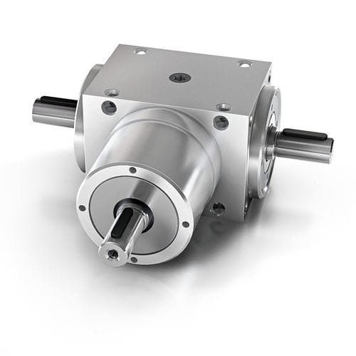 bevel gearbox / orthogonal / low-backlash / precision