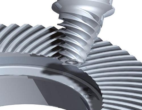 bevel gear / hypoid / spiral / hub