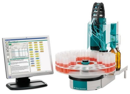 acid-base titration system / automatic / with automatic sample changer