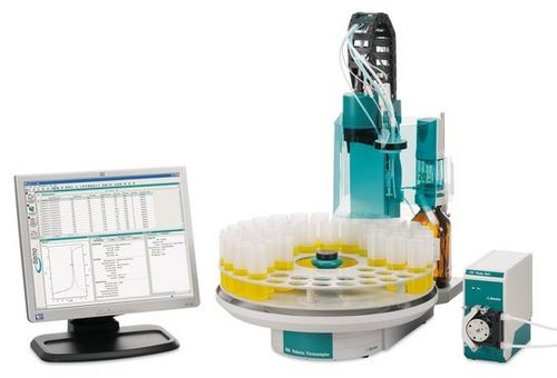 Automatic titration system / with automatic sample changer Robotic TAN/TBN Analyzer Metrohm