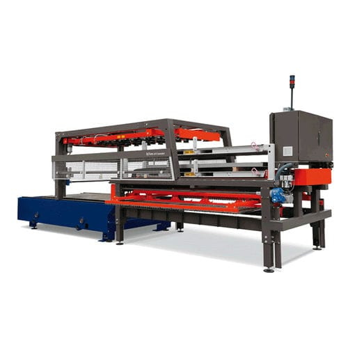 automatic shuttle table / for unloading / laser cutting machine / for loading