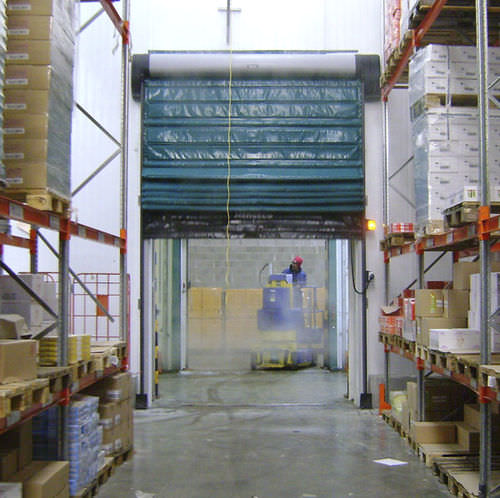 Fold-up doors / for cold storage / indoor / automatic Isofrigo, Star 5 Frigo series NERGECO
