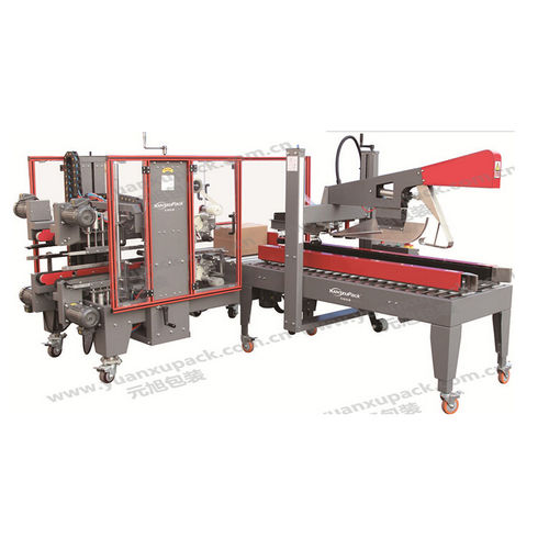 automatic case former-sealer / adhesive tape