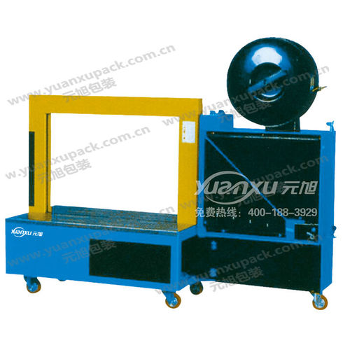 automatic strapping machine / for heavy loads / mobile