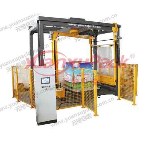 rotary arm stretch wrapper / automatic / stretch film