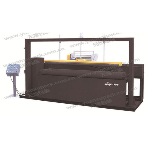horizontal stretch wrapper / automatic / for cylindrical objects / for cylindrical products