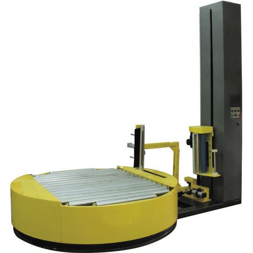turntable stretch wrapper / automatic / beverage / electronic