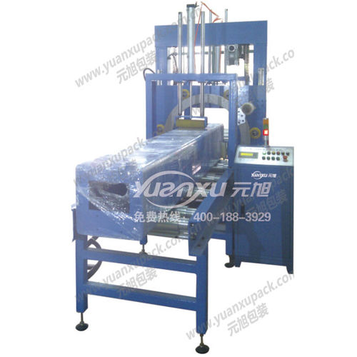 horizontal stretch wrapper / automatic / for profiles / glass