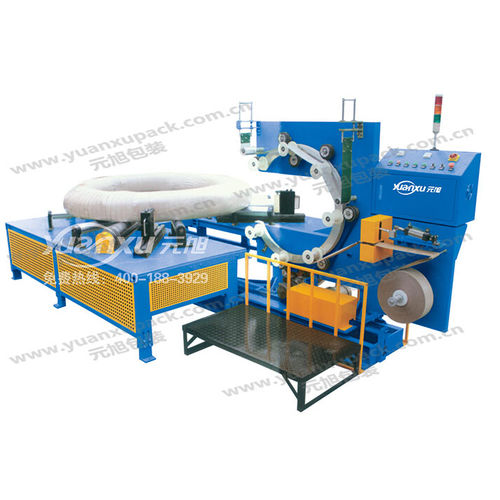 horizontal stretch wrapper / automatic / coil