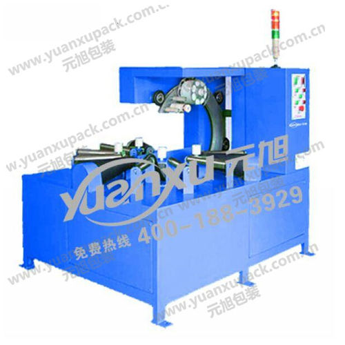horizontal stretch wrapper / automatic / for cable coils / for copper coils