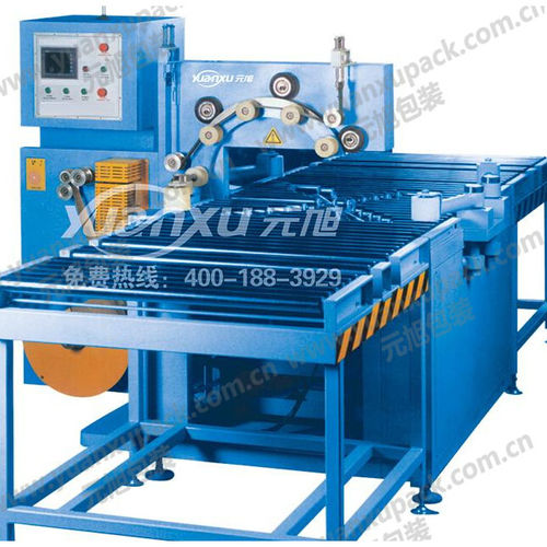 horizontal stretch wrapper / automatic / for copper coils / for aluminum coil