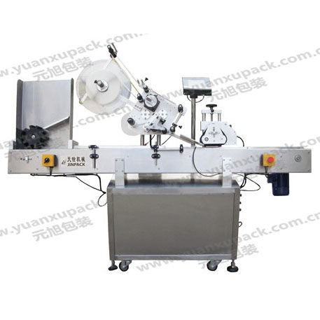 automatic labelling machine / for bottles / horizontal
