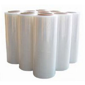 packaging film / stretch / PE / roll