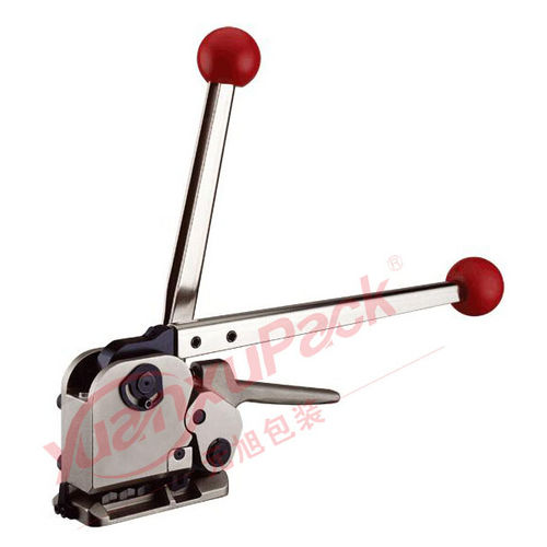 manual strapping tool / for steel straps
