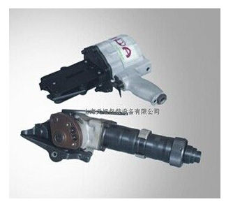 pneumatic strapping tool / for steel straps