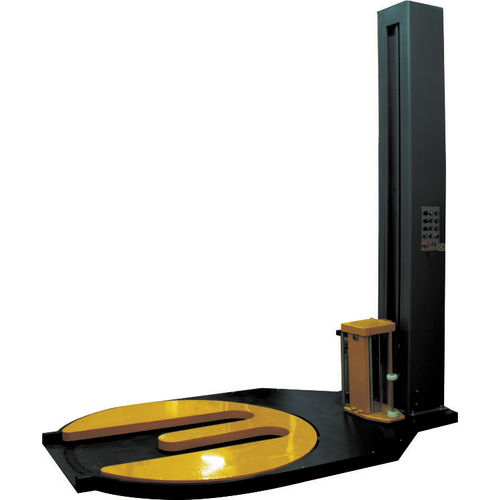 turntable stretch wrapper / automatic / with E-shaped platform