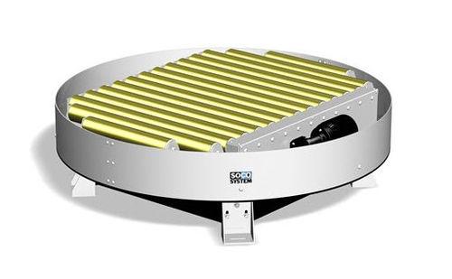 manual turntable / horizontal / for conveyors