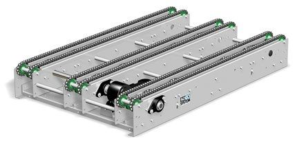 chain conveyor / pallet / horizontal