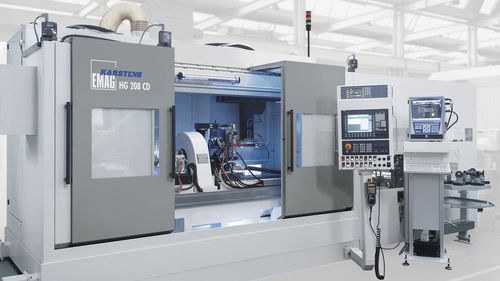 external cylindrical grinding machine / for shafts / for metal sheets / CNC