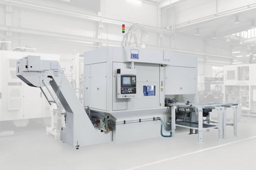 CNC turning center / vertical / 3-axis / drilling