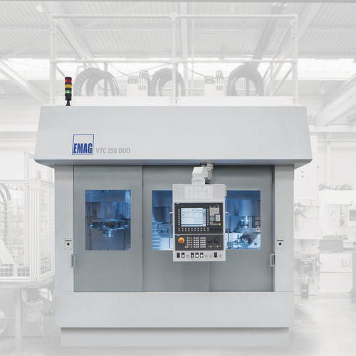 CNC turning center / vertical / 4-axis / double-spindle