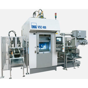 CNC turning center / vertical / 2-axis / grinding