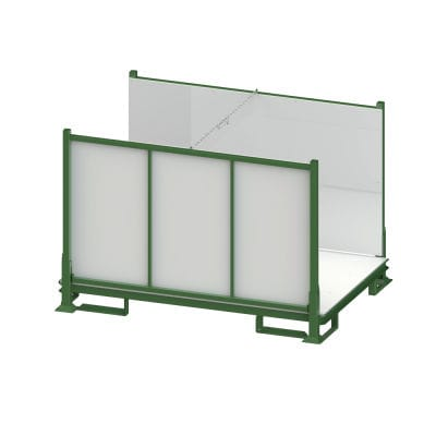 intermodal storage container / stackable