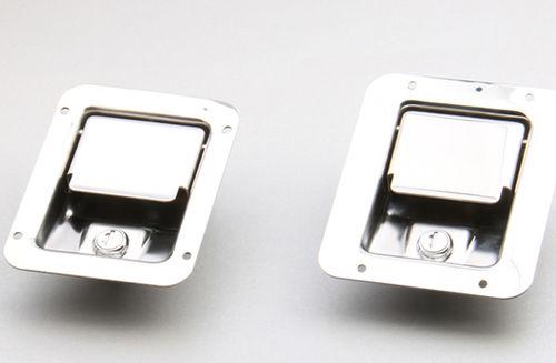 key lock / cabinet / for doors / stainless steel