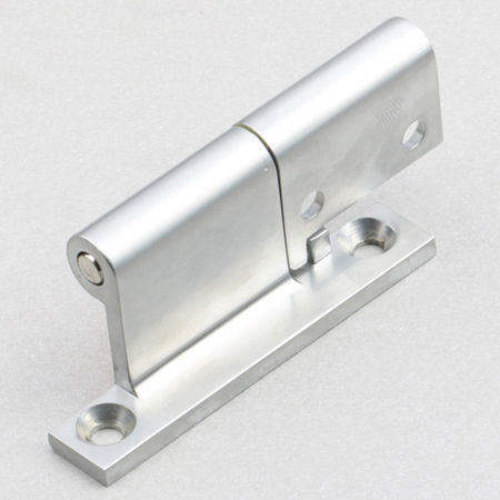 zinc hinge / concealed / screw-in / 90°
